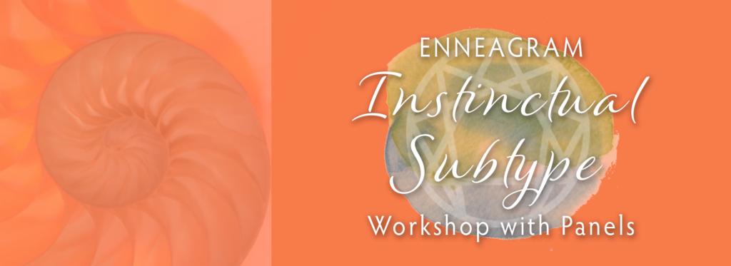 Enneagram Instinctual Subtypes Workshop with Panels – 5.4.19